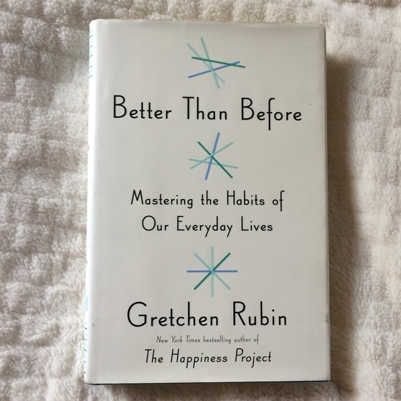 Other - Better Than Before Book - Gretchen Rubin